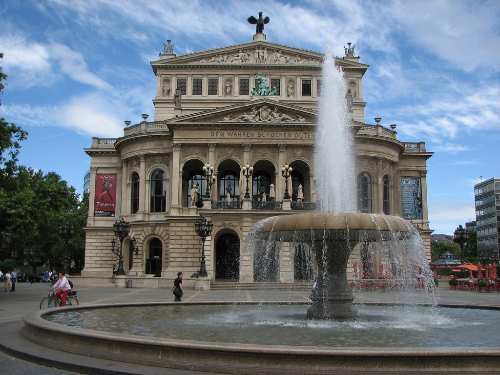 Old Frankfurt Opera House
