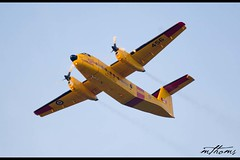 Yellow Search and Rescue (Kadacat (Marlene)) Tags: airplane searchandrescue skyhawks rcmpmusicalride thechallengegame challengegamewinner sunsetceremonies cc115hercules dehavillandcanadacc115buffalodhc5