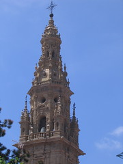 "Cathedral Spire in Santo Damingo de la Calzada • <a style=""font-size:0.8em;"" href=""http://www.flickr.com/photos/48277923@N00/2621832659/"" target=""_blank"">View on Flickr</a>"