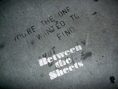 You're the one I wanted to find... between the sheets (magerleagues) Tags: sf love st sidewalk mission 19th