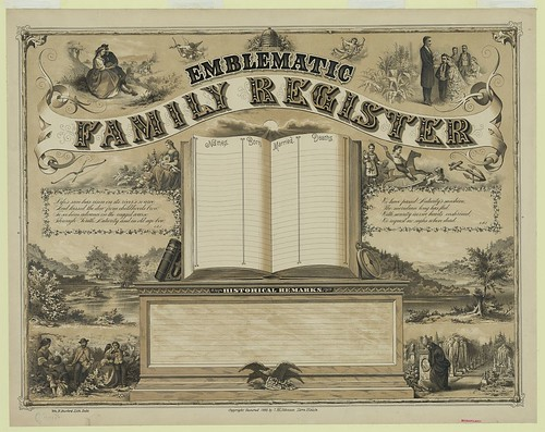 Emblematic Family Register by sassyarts