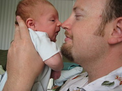 This is Ross Dunn and his new little boy Zander Dunn... born June 17th, 2008