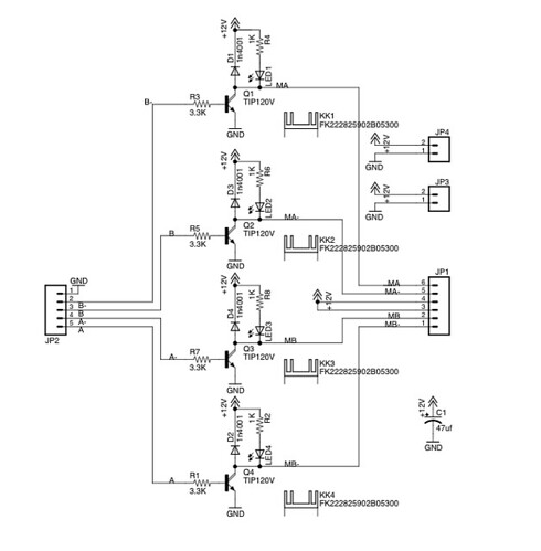 Stepper Motor Control With Arduino/Wiring on