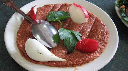 Kibbeh at Al-Ameer Restaurant