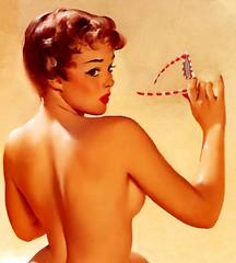 Hot (Mr. Wilson's Rules) Tags: beach sunglasses babe redhead lipstick busty 38d