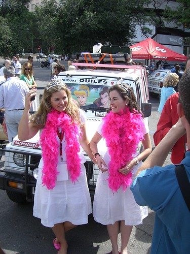 Las barbies del rally