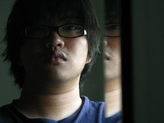 doppelgänger∣double-goer (tfpeng) Tags: selfportrait me canon mirror g9 theworldbestportraits
