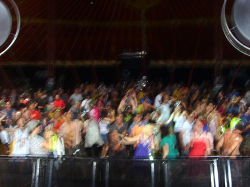 Big Rave Crowd Shot from glade 2008