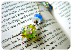 Happy Friday! (Ghosia Ahmed) Tags: book beads words pages weekend text page beaded beady bookmark dangly yippee happyfriday ghosia
