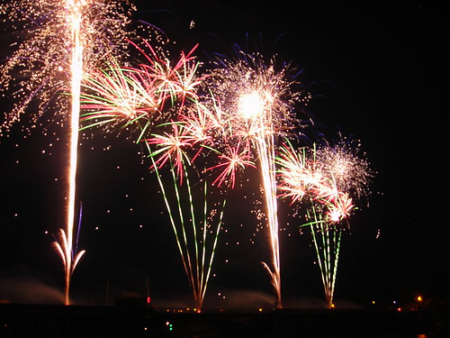 Walney Bridge centenary fireworks