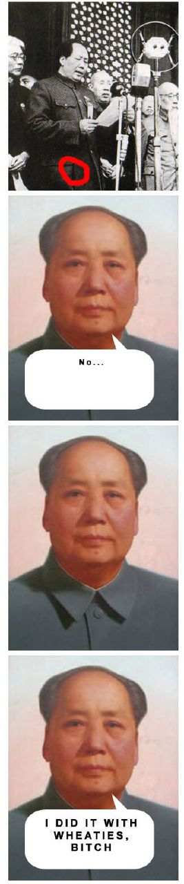Chairman Mao explains it all 4