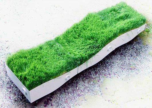 grass bench 2