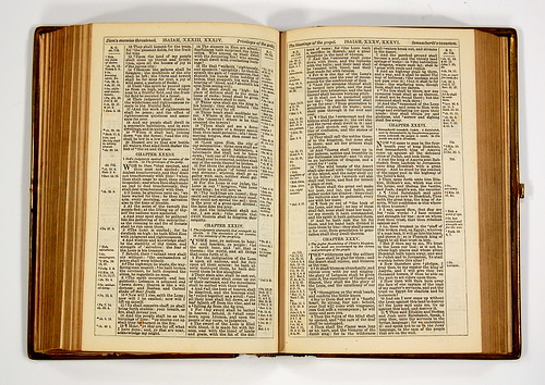 1870s Cambridge KJV - Spread