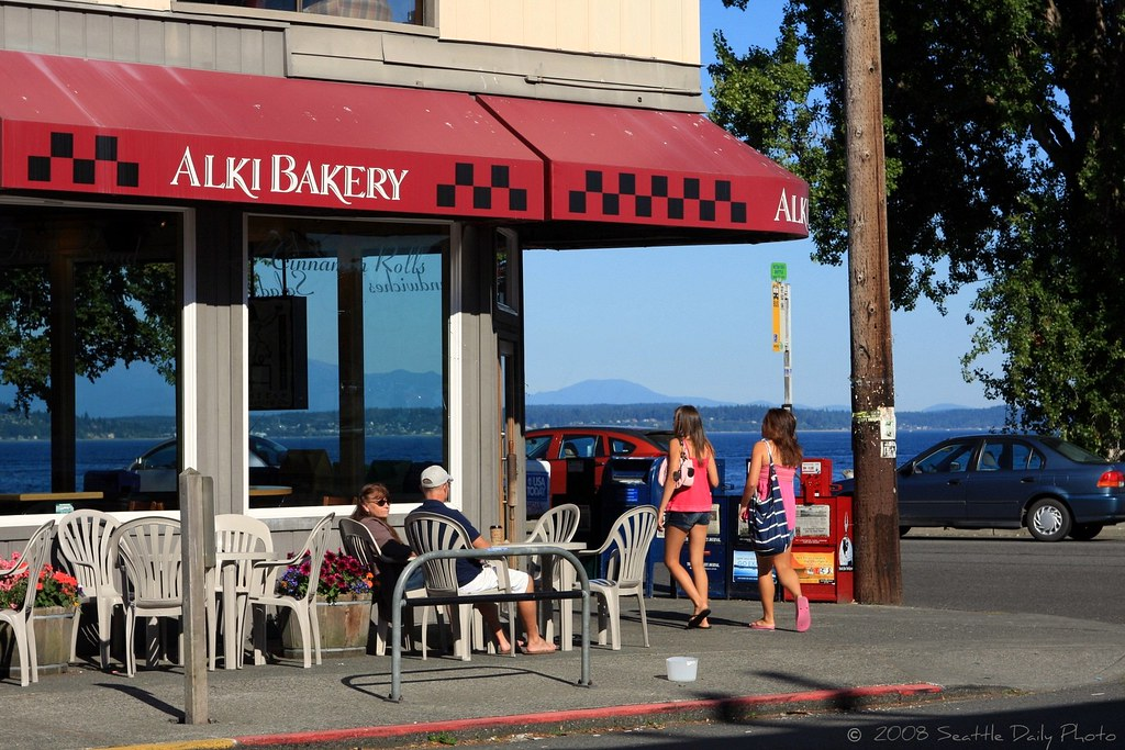 Alki Bakery This Morning