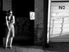 NO - black and white (TommyKirchmeier) Tags: nyc people brooklyn streetphotography smoking redhead peoplewatching bk wililamsburg newyorkcitty aplusphoto excapture aligatorlounge peachofashot theartlair