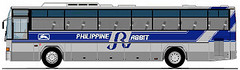 Anyone remember this? (I-cocoy22-I) Tags: blue bus rabbit lines gray philippine prbl
