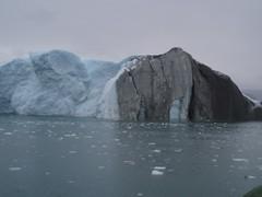Snavset isbjerg (pingvin2007) Tags: grnland ilulissat isbjerge