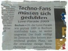 Techno-Fans müssen sich gedulden