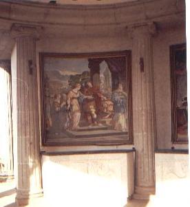 Partenon de Durazo: pintura estilo clasico