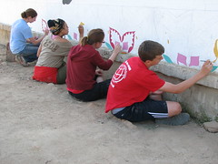 IMG_8769-1 (LearnServe International) Tags: travel school painting education mural sara gabe international coco margaret learning service 2008 highlight zambia shared cie monze learnserve lsz08 bygaby malambobasicschool