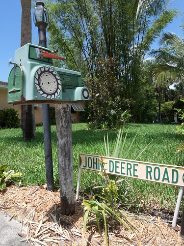 john deere mailbox