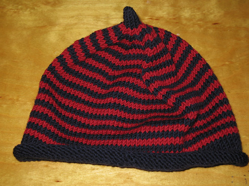 baby stripe hat - alt