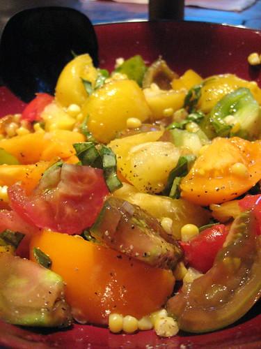 Tomato & Corn Salad