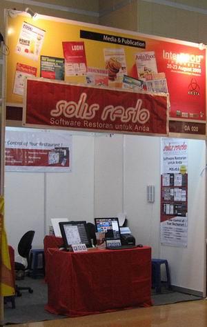 Booth Solis Resto
