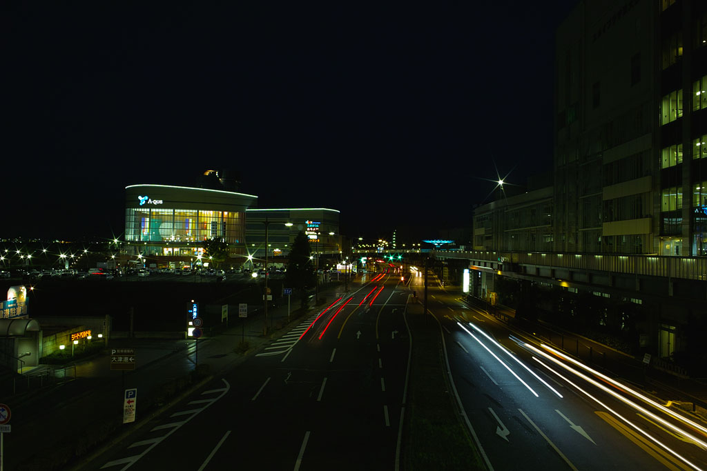 Night View of Shiga Route 18