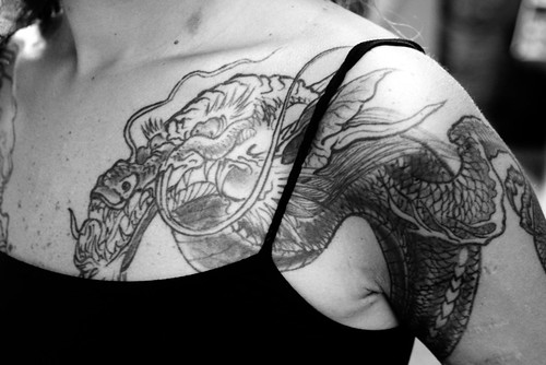 Shoulder Tattoo Designs for Women