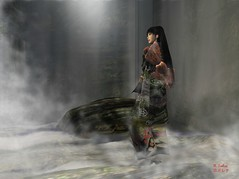 World of Mist, Version II (Rena Sakai) Tags: portrait asian japanese sl secondlife zen impermanence sakai rena windlight straylight artphotography