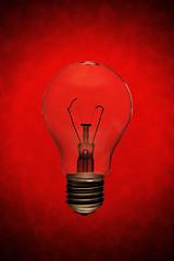 Abort: Bulb (jæms) Tags: light red glass bulb studio globe explore bead abort blown strobist seekingrecognitionchallenge