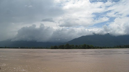 The view of Champasak