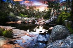 Magickal Rock Pool (AzA Zymurgy (David Ballard)) Tags: blue mountains pool rock