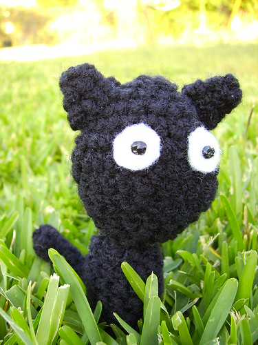 Haloween Amigurumi - Black Cat