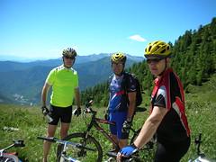 DSCN0233 (Hannibal Cycle tours / Belvedere B&B) Tags: italy holiday cycling italia mountainbike crosscountry fenestrelle valchisonemountainbike colledellefinestra alpinebiking
