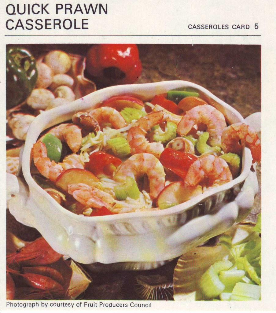 Quick Prawn Casserole