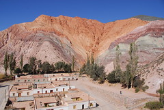 Seven-Color Rocks, Punamarca