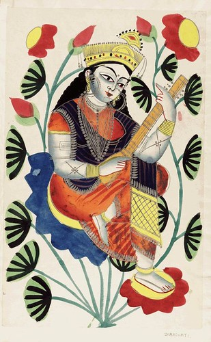 013- Sarasvati diosa del lenguaje y la literatura