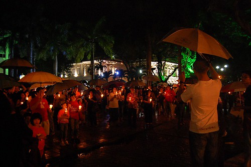 penang candle light vigil