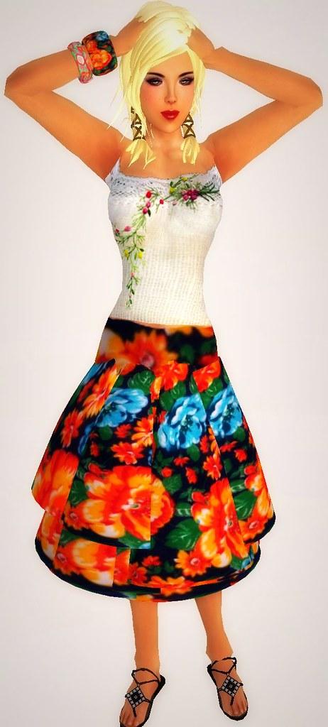 pic free skirt & skin