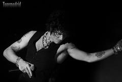 Bunbury en el concierto de Madrid 12