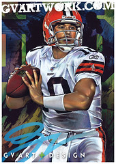 brady quinn artwork closeup (G V Art and design) Tags: artwork cleveland nfl browns clevelandbrowns lebronjames runningback cribbs bradyquinn jimbrown sportsart lewisjamallewis