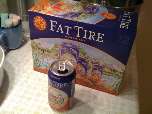 Fat tire can