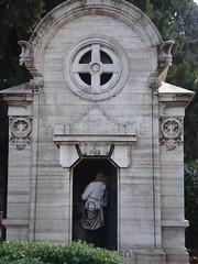 roberto (frattaglia) Tags: rome roma cemetery grave graves verano tomba neorealismo tombe cimiteromonumentale robertorossellini