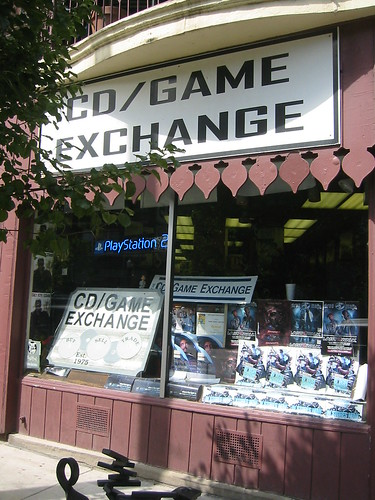 Former CD/Game Exchange (The Record Exchange), Cleveland Heights, Ohio