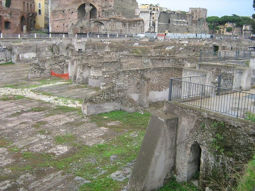 Remains of Forum of Augustus