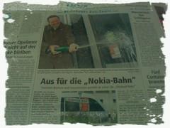 Glückauf-Bahn ersetzt die Nokia-Bahn
