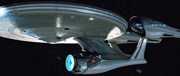 Star Trek's Full Enterprise Revealed