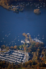 The car ferry over Windermere